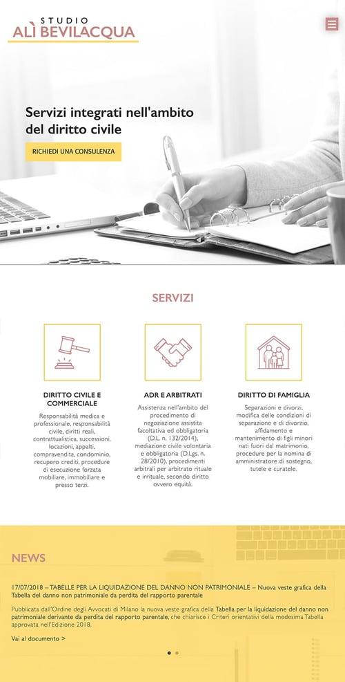 Sito web - Ali Bevilacqua | Blog EA