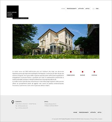 Sito web 2 - Avvocati Associati | Eclettica-Akura, Torino