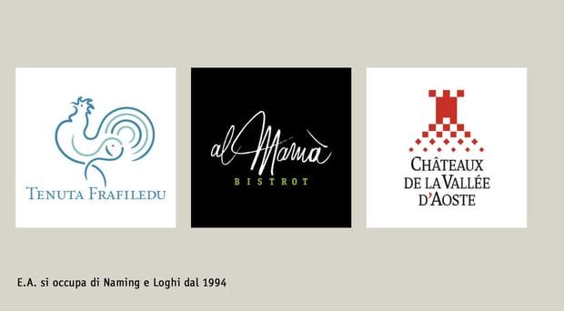E.A. Naming e Logo