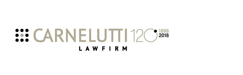 Logo per i 120 anni dello Studio Legale Carnelutti, realizzato da Eclettica Akura.
