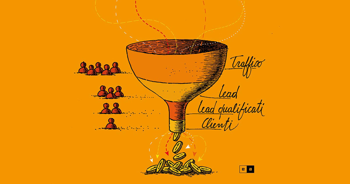Funnel Inbound Marketing - Eclettica-Akura, Torino