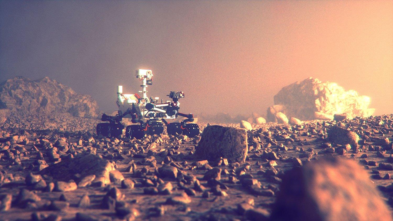 Robot su Marte :)